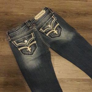 Rock Revival Boot Cut Jeans Size 28